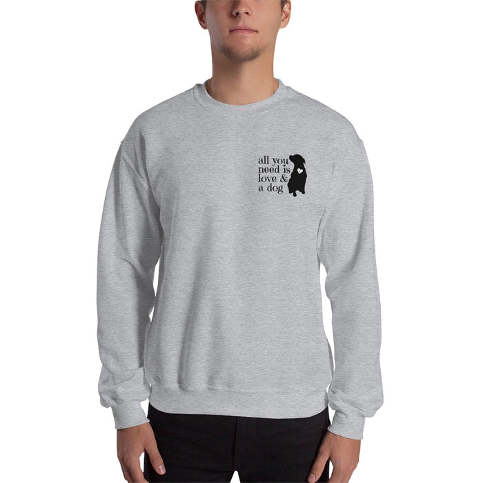 All You Need Is Love Cozy Sweatshirt - GrifGrips