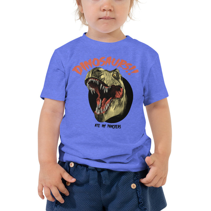Dinosaurs!! Toddler Short Sleeve Tee