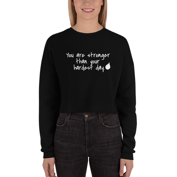You Are Stronger  - Crop Sweatshirt - GrifGrips