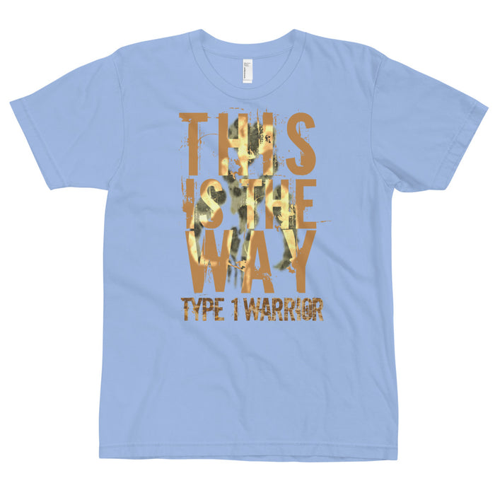 Type 1 Warrior - Adult T-Shirt - GrifGrips
