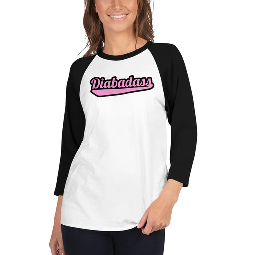 Diabadass - 3/4 sleeve raglan shirt (Women)
