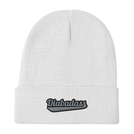 Diabadass Embroidered Beanie - GrifGrips