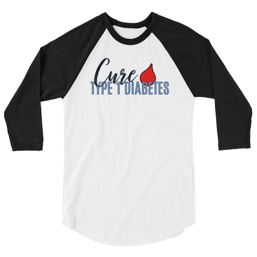 Cure Type 1 - 3/4 sleeve raglan shirt