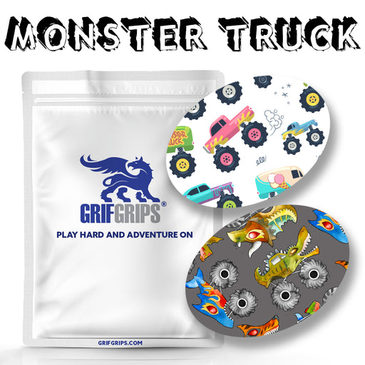 Monster Truck Combo: Choose Your Formula - Oval Shapes - 20 Pack - GrifGrips