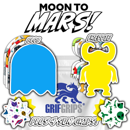 Space: Moon to Mars Combo (12 Pack) - GrifGrips