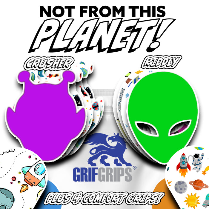 Space: Not from this Planet Combo (12 Pack) - GrifGrips