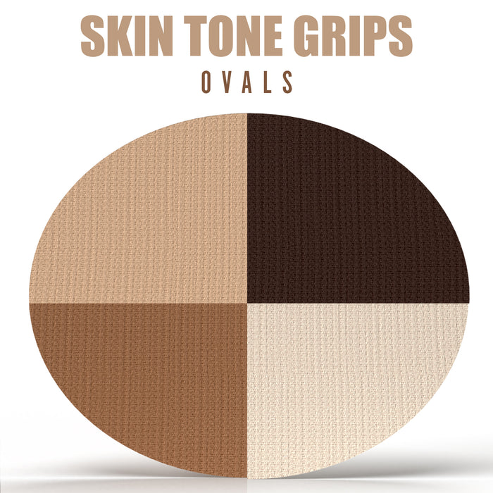 Skin Tone Grips: Oval Grips - Choose your Device / Tape Formula / Skin Tone (25 Pack) - GrifGrips