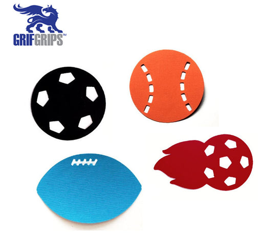 Play Ball Combo Grip Pack (Set of 12) - GrifGrips