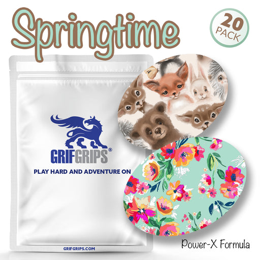Springtime Combo: Power-X Ovals (Pack of 20) - GrifGrips