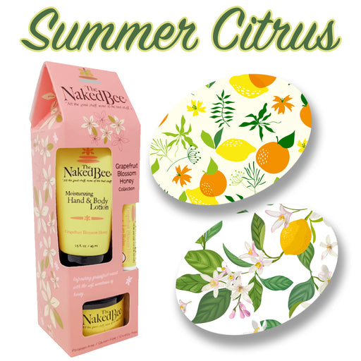 GrifGrips Summer Citrus Combo: Extreme - 10 Pack Grips Plus Grapefruit Blossom Collection