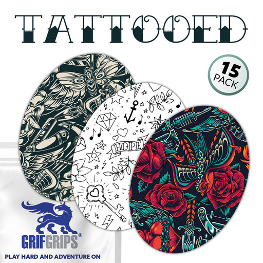 Extreme + Power-X: Tattooed Combo (15 Pack) - GrifGrips