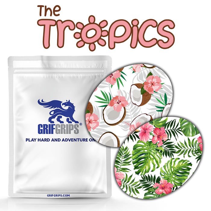 The Tropics Combo: Extreme Formula  - 20 Pack of Oval Grips - GrifGrips