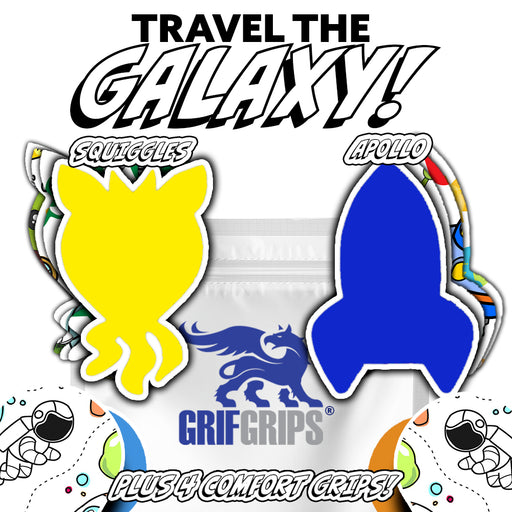 Space: Travel the Galaxy Combo (12 Pack) - GrifGrips