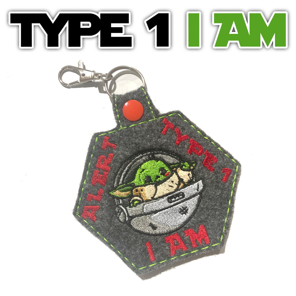 Type 1 I AM: Medical ID Tag for T1D - GrifGrips