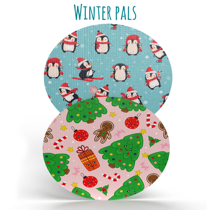 Winter Pals Combo: Oval Shapes - Choose Your Formula - (20 Pack) - GrifGrips