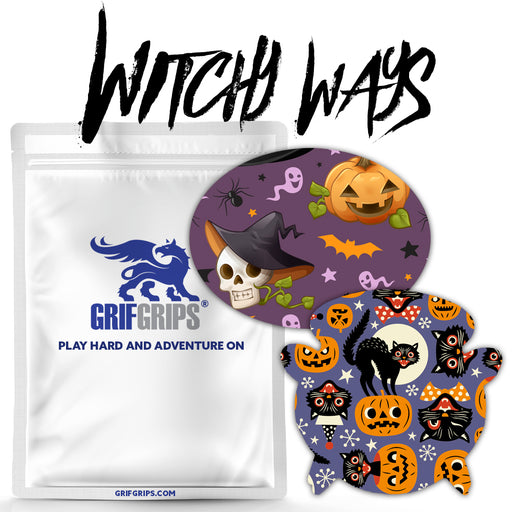 Witchy Ways Combo: Oval and Cauldron Shapes - Choose your own Formula - 20 Pack - GrifGrips