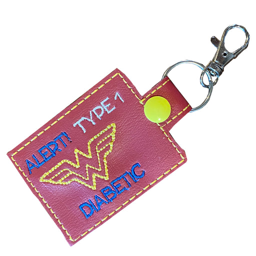Superhero Girl: Medical ID Tag for T1D - GrifGrips