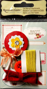 Recollections Signature Collection Card Making Embellishment kit - SCRAPBOOKFARE