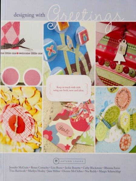 Autumn Leaves Designing With Greetings Book - SCRAPBOOKFARE