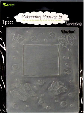 Darice Butterfly Papillon Embossing Essentials Folder - SCRAPBOOKFARE