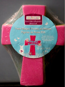 Creatology Easter Cross Foam Shapes - SCRAPBOOKFARE