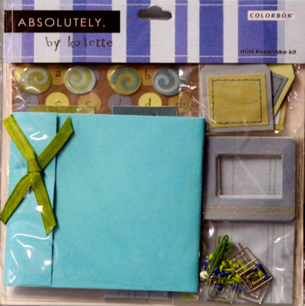 Colorbok Absolutely By Kolette Mini Keepsake Kit - SCRAPBOOKFARE