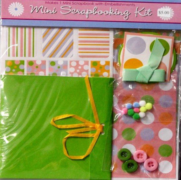 Horizon Group Mini Any Occasion Scrapbook Kit - SCRAPBOOKFARE