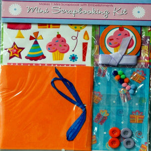 Horizon Group Mini Birthday Scrapbook Kit - SCRAPBOOKFARE