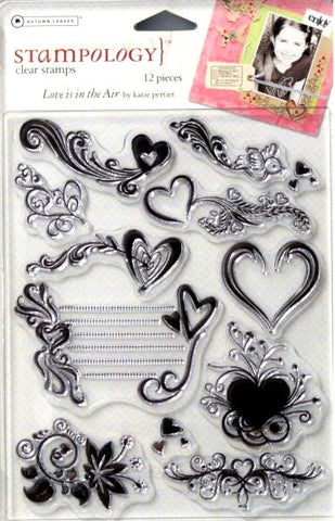Autumn Leaves Stampology  Love Is In The Air Clear Stamps - SCRAPBOOKFARE