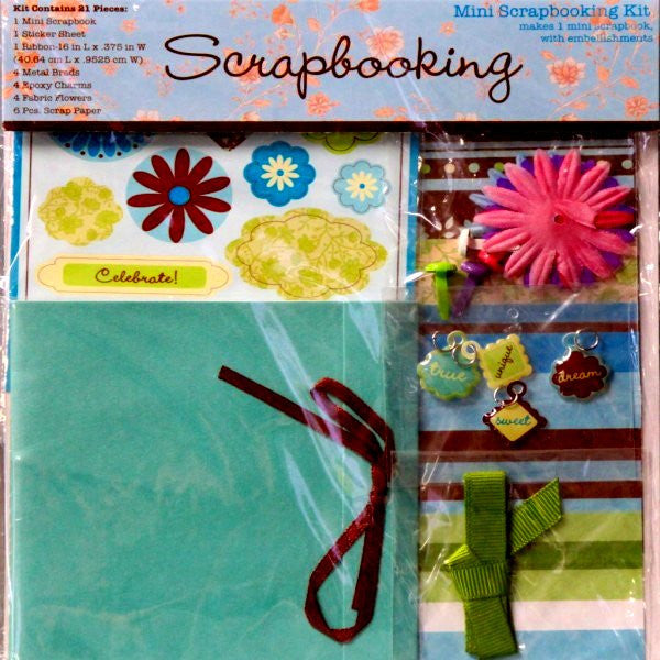 Devrian Global Industries Inc. Mini Any Occasion Scrapbook Kit - SCRAPBOOKFARE