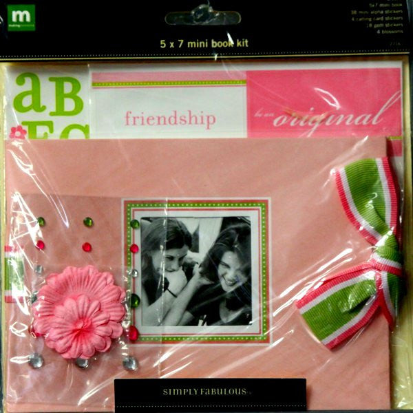 Making Memories Brooke Mini Scrapbook Kit - SCRAPBOOKFARE