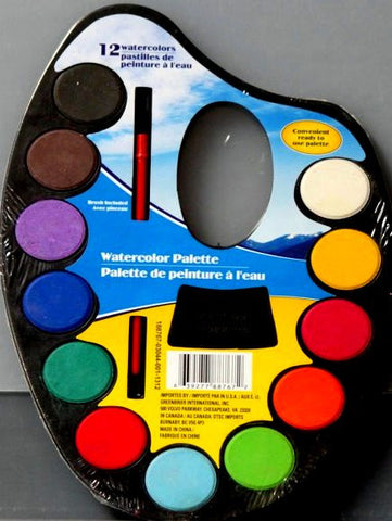 Watercolor Palette Paint Set