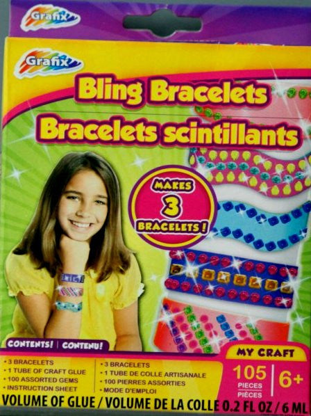 Grafix Bling Bracelets Kit - SCRAPBOOKFARE