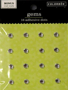 Colorbok Self-Adhesive Diamond Gems Embellishments - SCRAPBOOKFARE
