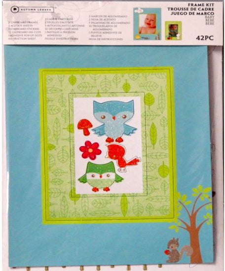 Autumn Leaves Baby Frame Kit - SCRAPBOOKFARE