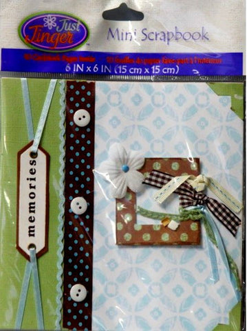 Wilton Just Jinger Mini Memories Card Book Scrapbook Album