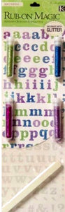 K & Company Brenda Walton Classic Alphabet Rub-On Magic - SCRAPBOOKFARE