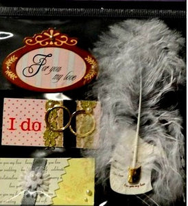 Deluxe Dimensional Bling I Do Wedding Stickers - SCRAPBOOKFARE