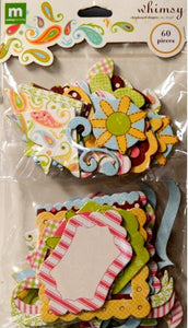 Making Memories Whimsy Chipboard Shapes Embellishments - SCRAPBOOKFARE
