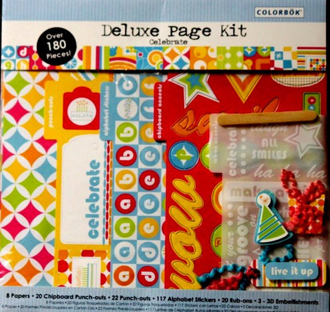Colorbok Deluxe Celebrate Page Kit - SCRAPBOOKFARE