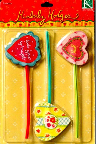 K & Company Kimberly Hodges Joy Twisties Embellishments - SCRAPBOOKFARE