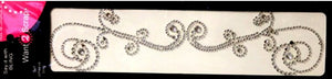 Spellbinders Want 2 Scrap Say it With Bling Diamond Rhinestone Self-Adhesive Allure Swirl Embellishments