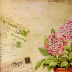 K & Company 12 x 12 Susan Winget Double-Sided Flat Printed Floral Designer Scrapbook Paper - SCRAPBOOKFARE