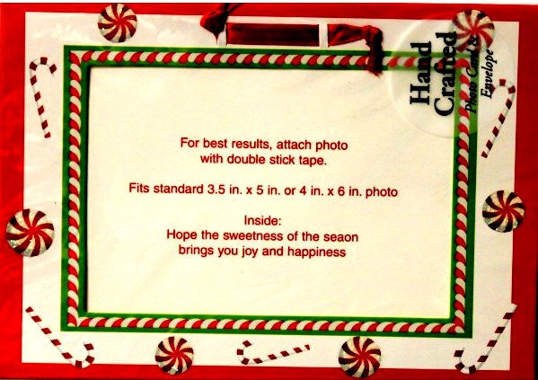 Imagica Hand Crafted Photo Card & Envelope Christmas Greeting Cards - SCRAPBOOKFARE