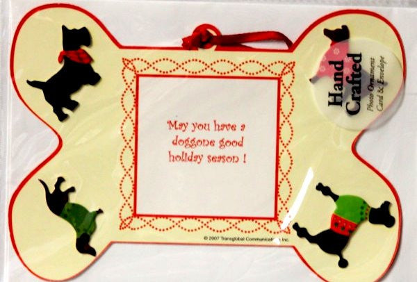 Imagica Hand Crafted Photo Ornament & Envelope Christmas Greeting Cards - SCRAPBOOKFARE