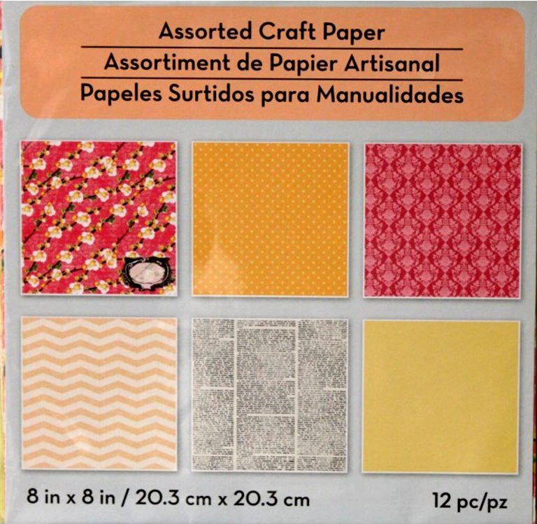 Songs of Spring Assorted Collection #4  8 x 8  Scrapbook papers