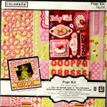 Colorbok 12 x 12 Baby Girl Scrapbook Page Kit - SCRAPBOOKFARE