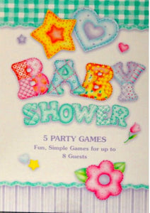 Baby Shower Party Games Book - SCRAPBOOKFARE