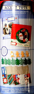 Colorbok Limited Edition Christmas Accent Tote - SCRAPBOOKFARE