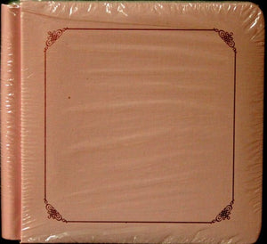 Creative Memories 8 x 7.50  Pink Scrapbook Album - SCRAPBOOKFARE
